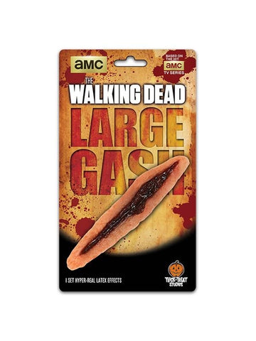 The Walking Dead Large Walker Gash Make-up Appliance