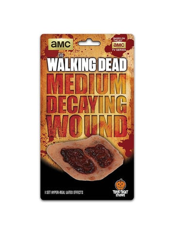 The Walking Dead Medium Walker Decaying Make-up Appliance