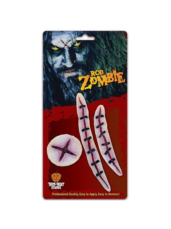 Rob Zombie Scars Make-up Appliances-COSTUMEISH
