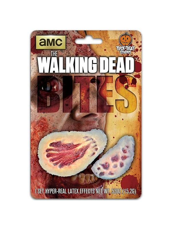 The Walking Dead Walker Bite Wound Make-up Appliance-COSTUMEISH