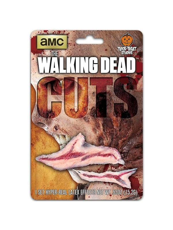 The Walking Dead Walker Cuts Make-up Appliance-COSTUMEISH