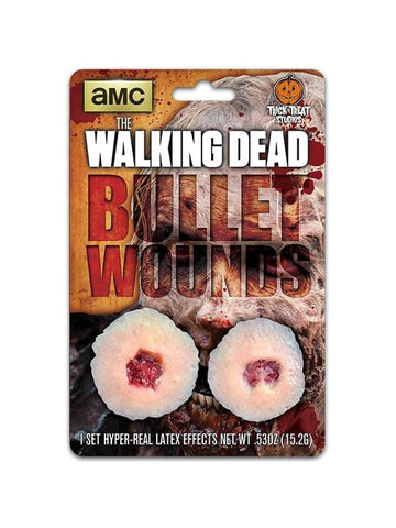 The Walking Dead Walker Bullet Wound Make-up Appliance