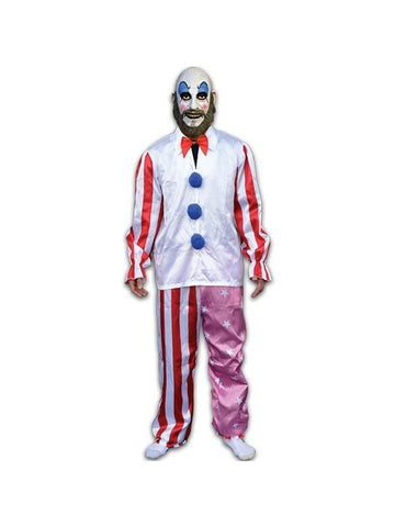 Adult House Of 1000 Corpes Captain Spaulding Costume-COSTUMEISH