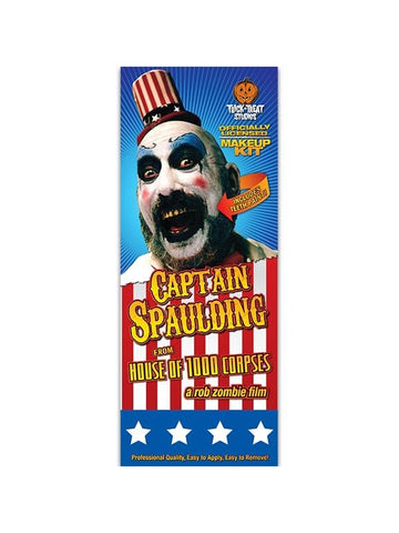House Of 1,000 Corpes Captain Spaulding Makeup Kit-COSTUMEISH