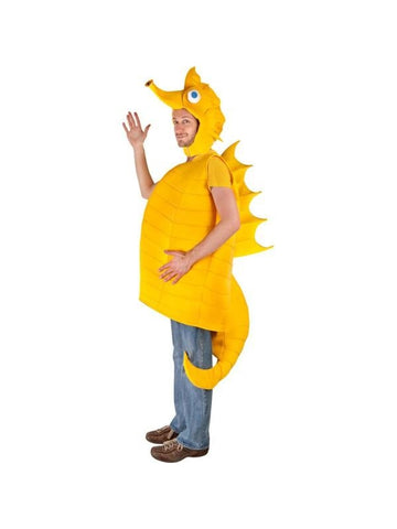 Adult Yellow Sea Horse Costume-COSTUMEISH