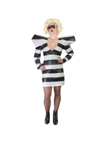 Adult Pop Singer Prisoner Costume-COSTUMEISH