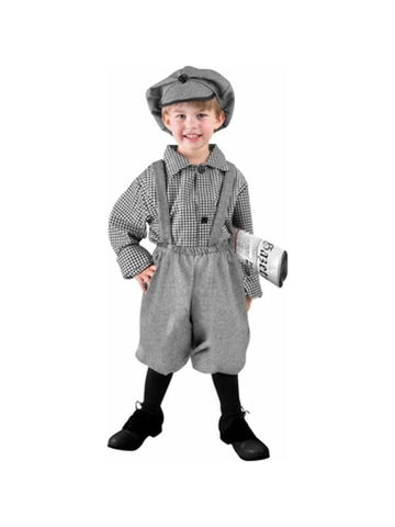 Toddler News Boy Costume