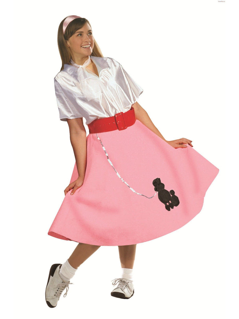 Adult Poodle Skirt with Shirt-COSTUMEISH