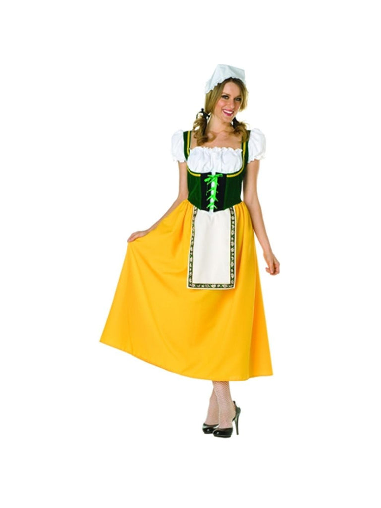 Adult Green Milk Maiden Costume-COSTUMEISH