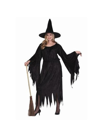 Velvet Witch Plus Size Costume-COSTUMEISH