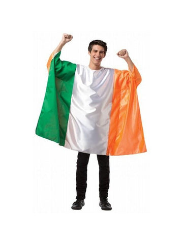 Adult Ireland Flag Tunic Costume