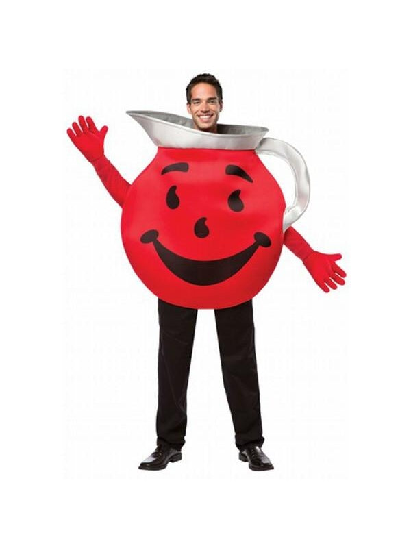 Adult Kool Aid Guy Costume-COSTUMEISH