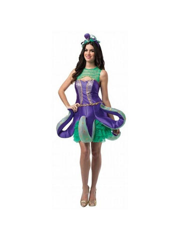 Adult Ornate Octopus Costume Dress