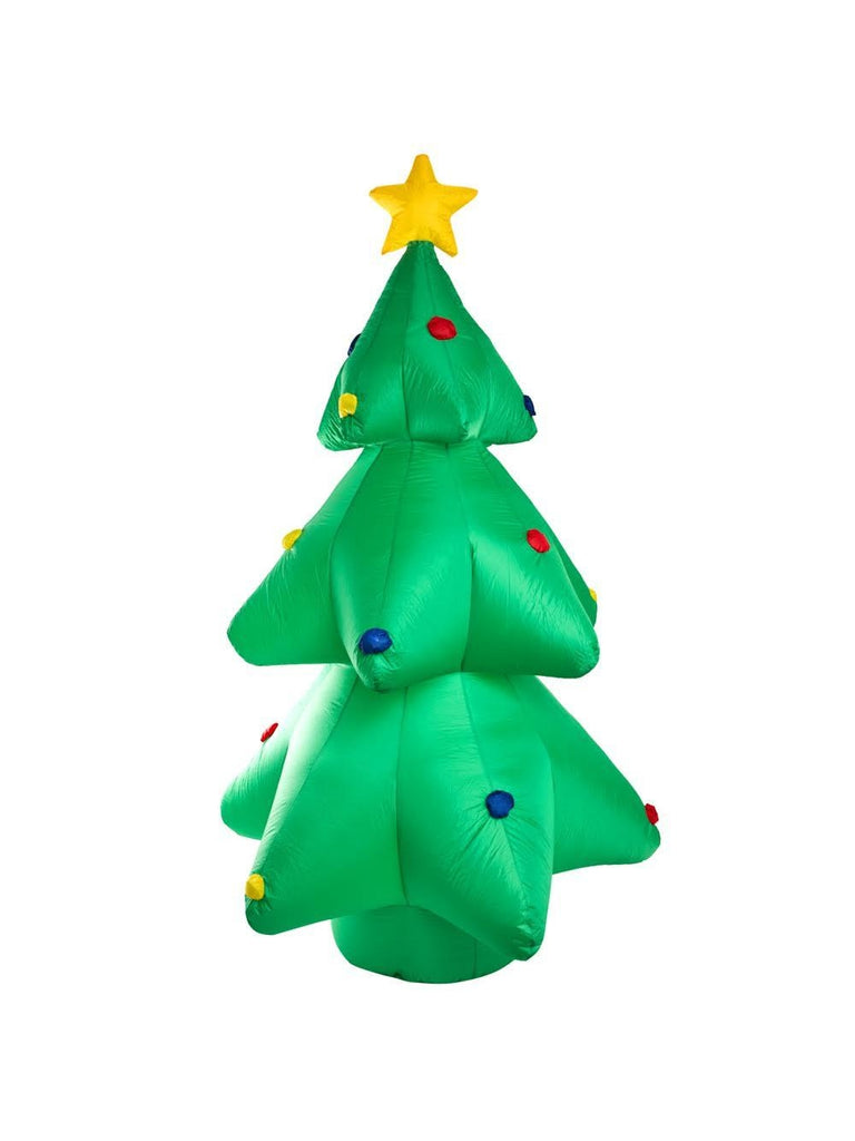 8' Air Blown Christmas Tree Yard Decoration-COSTUMEISH