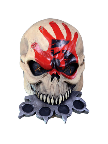 Five Finger Death Punch Knucklehead Costume Mask-COSTUMEISH