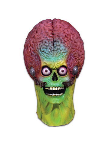 Mars Attacks! Martian Soldier Costume Mask-COSTUMEISH