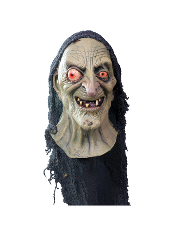 Adult Sea Hag Costume Witch Mask-COSTUMEISH