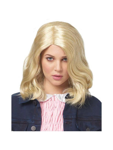 Women's Strange Girl Blond Wig-COSTUMEISH