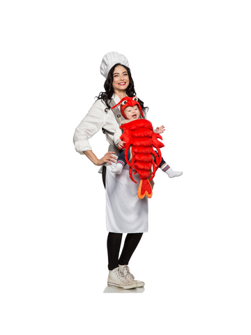 Master Chef and Maine Lobster Mommy & Me Costume-COSTUMEISH