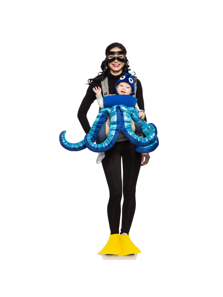 SCUBA Diver and Octopus Mommy & Me Costume-COSTUMEISH