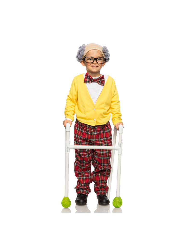 Toddler Old Man Grandpa Costume-COSTUMEISH