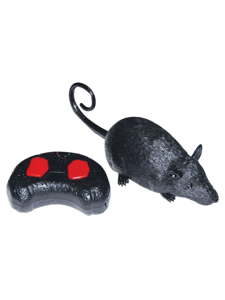 Remote Control Rat Halloween Decoration-COSTUMEISH