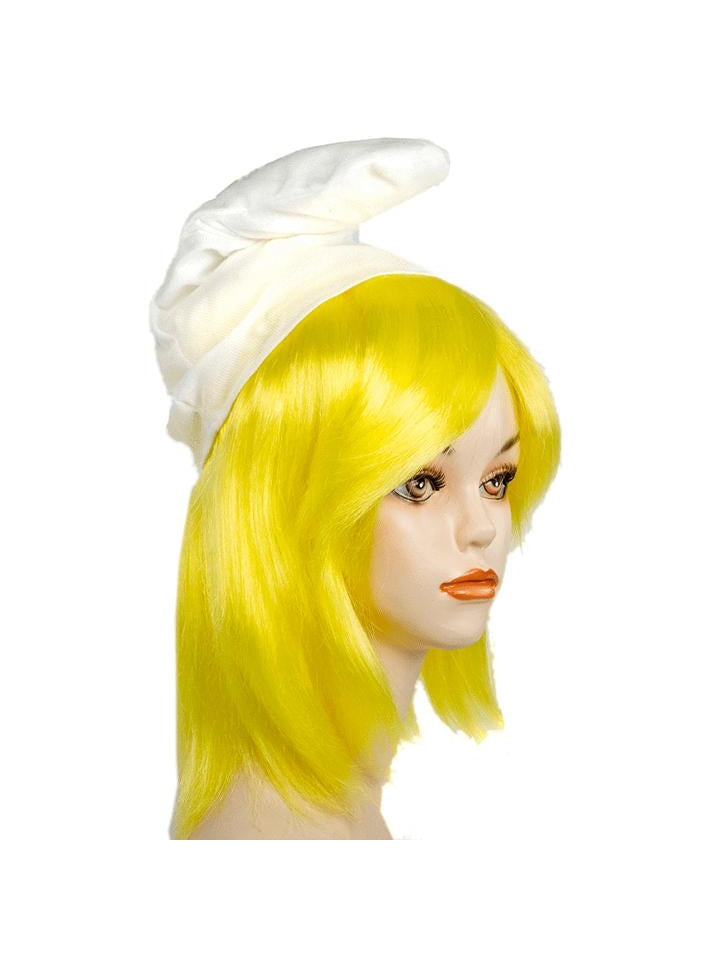 Women Blue Troll Yellow Wig-COSTUMEISH