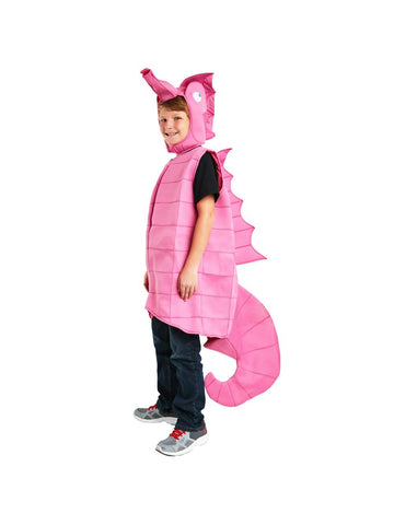 Adult Pink Sea Horse Costume-COSTUMEISH