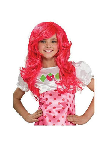 Child Strawberry Shortcake Wig-COSTUMEISH