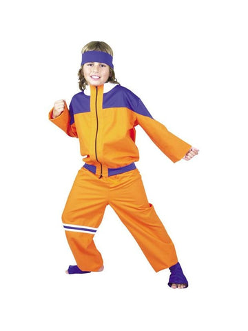 Child's Naruto Style Costume-COSTUMEISH