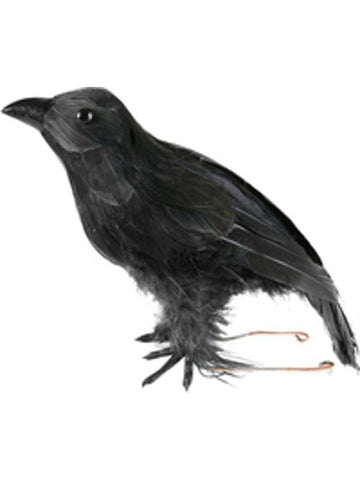 Fake Halloween Crow