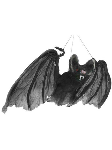 Hanging Flying Bat Halloween Prop