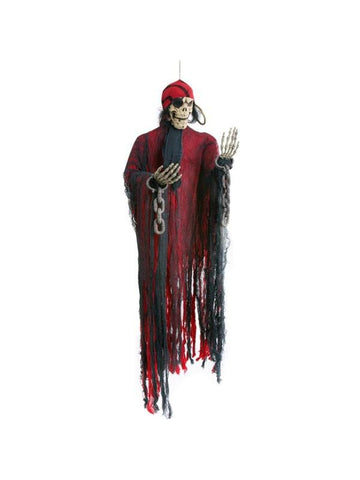 Hanging Dead Pirate Halloween Prop-COSTUMEISH