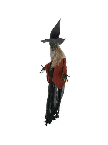 Black Witch Portiere Halloween Prop