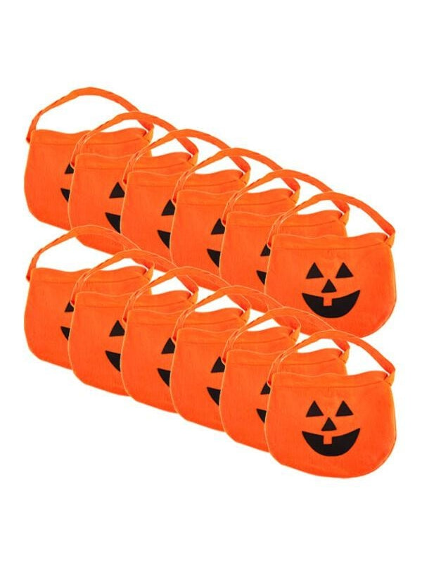 Trick or Treat Candy Bags - Dozen-COSTUMEISH
