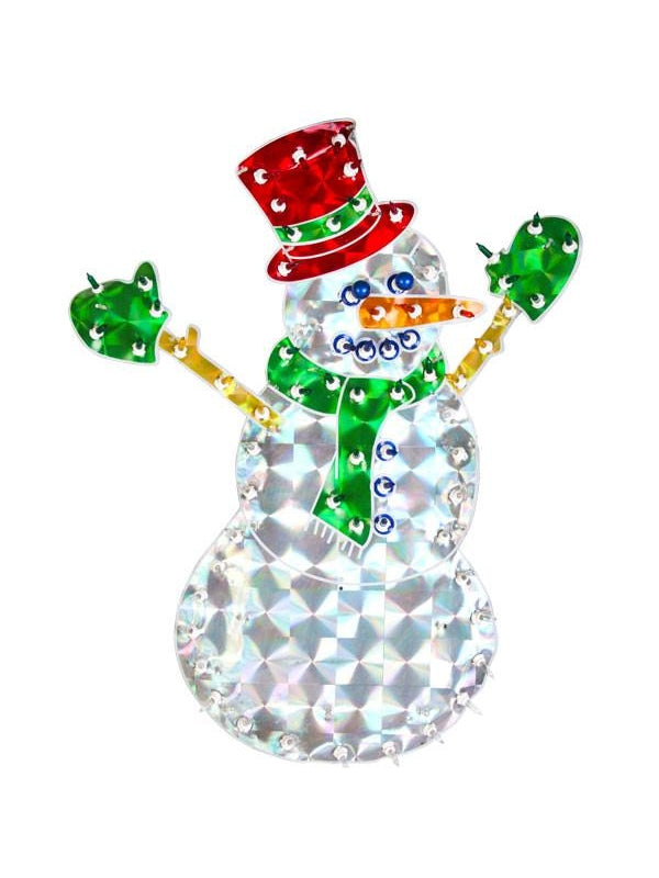 "20"" Light Up Christmas Snowman Yard Decoration-COSTUMEISH"