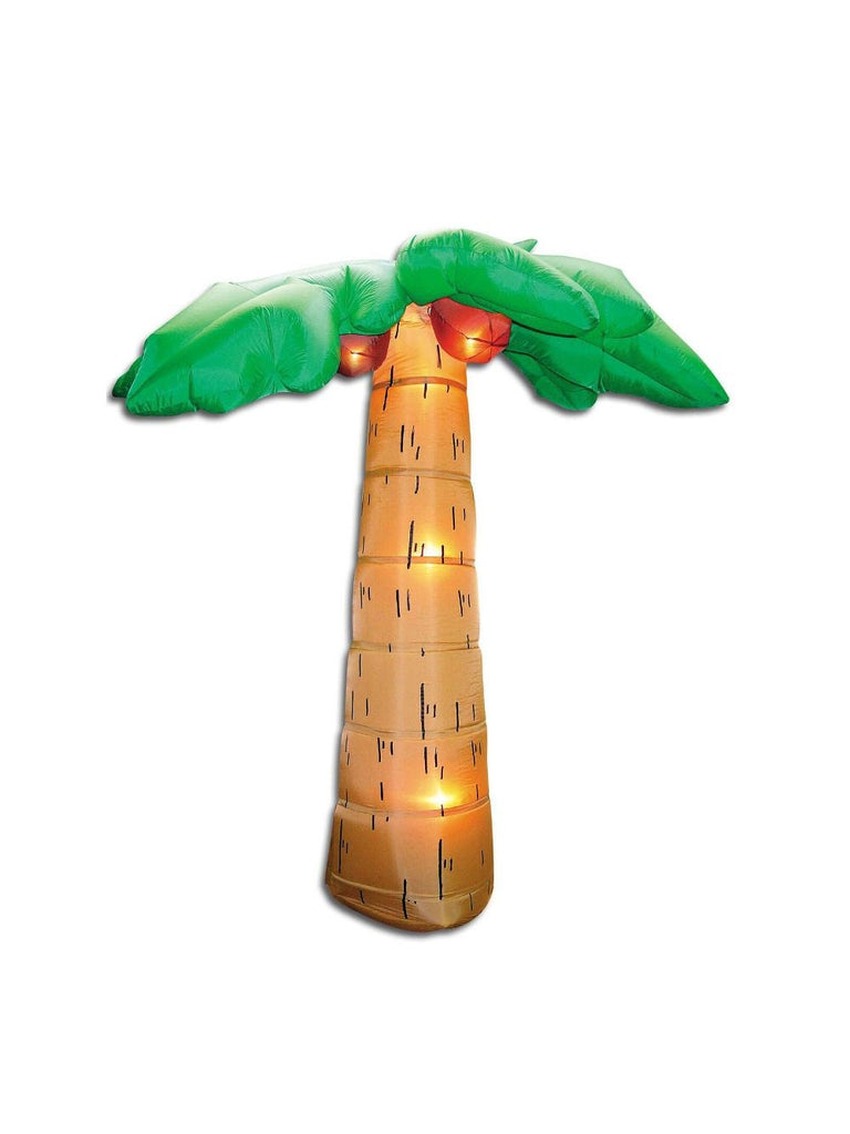 8' Airblown Palm Tree Outdoor Decor-COSTUMEISH
