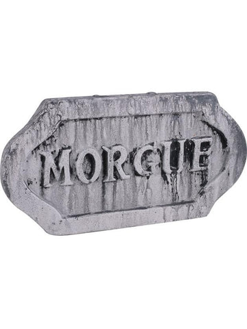 Halloween Morgue Sign Prop