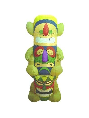 Inflatable Tiki Pole Prop-COSTUMEISH