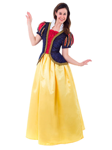 Deluxe Snow White Dress-up Costume for Adult Women