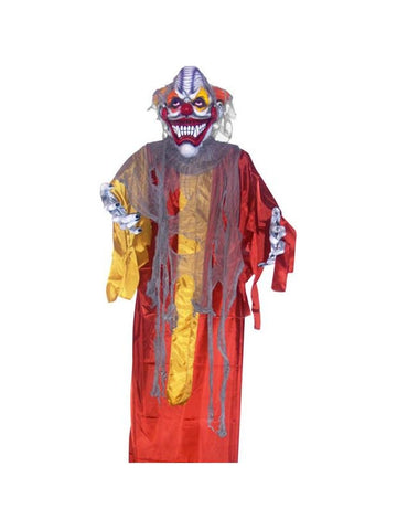 Large Hanging Scary Clown Halloween Prop
