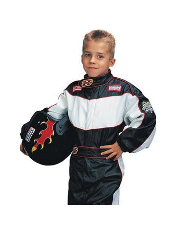 Child's Race Car Driver Costume-COSTUMEISH