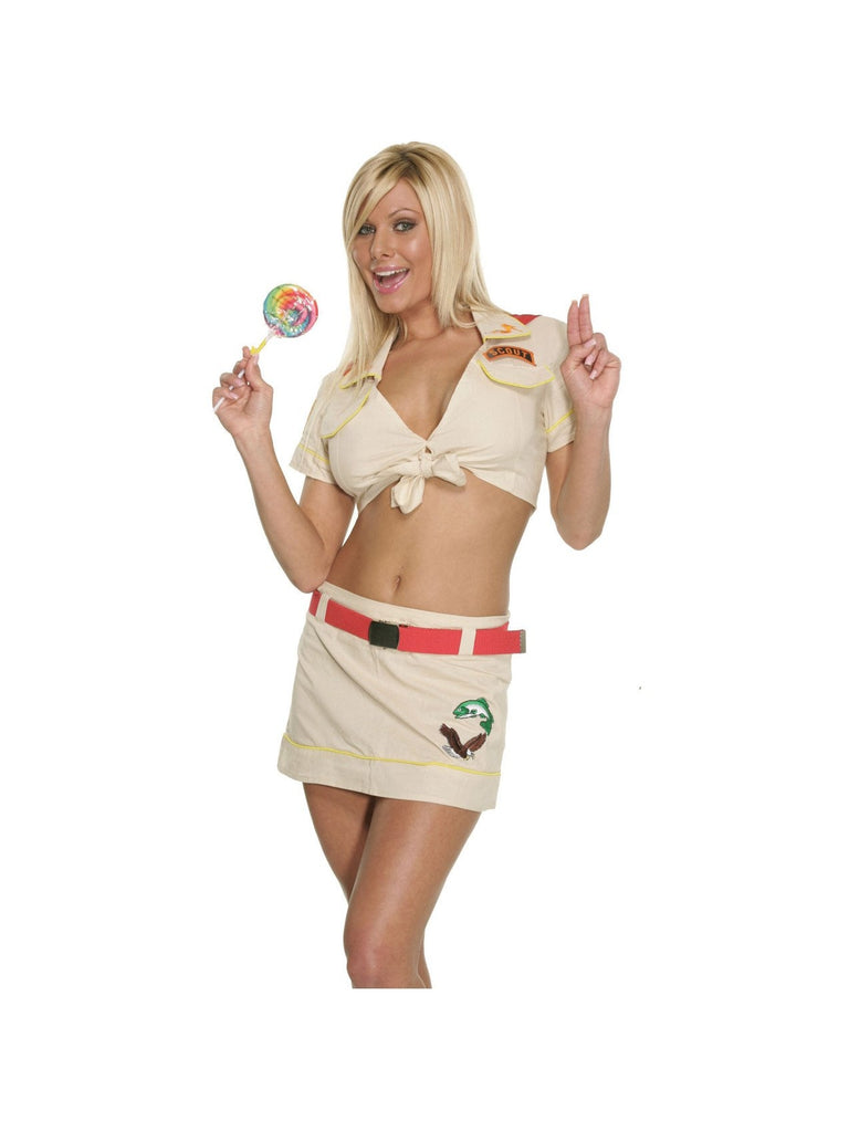 Adult Sexy Girl Scout Costume-COSTUMEISH