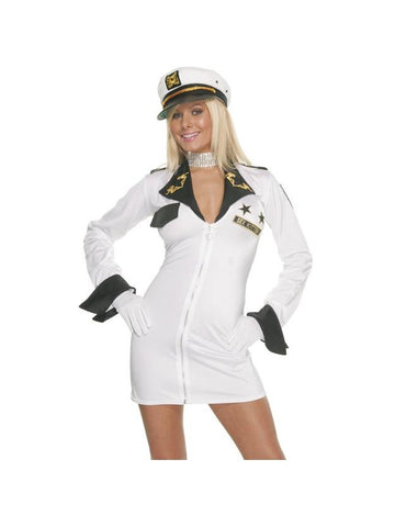 Adult Sexy Navy Girl Costume