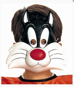 Looney Tunes Sylvester the Cat PVC Mask