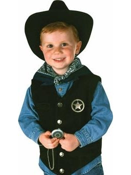 Child Cowboy Costume Set