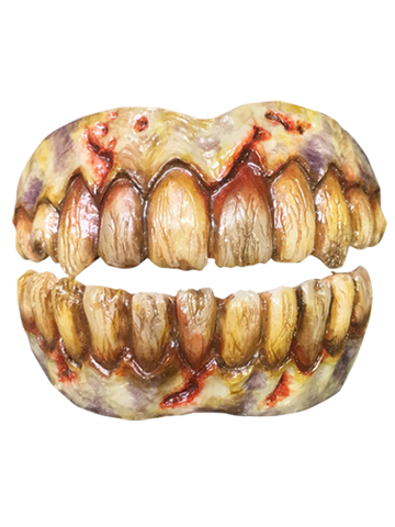 Undead Zombie Teeth Costume Dentures