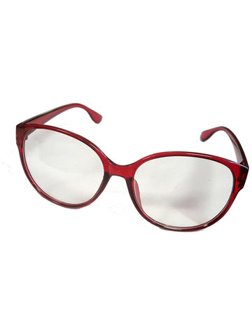 Sally Jessy Raphael Red Costume Glasses