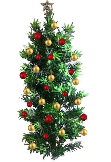 Weed Marijuana Leaf Artificial Christmas Tree