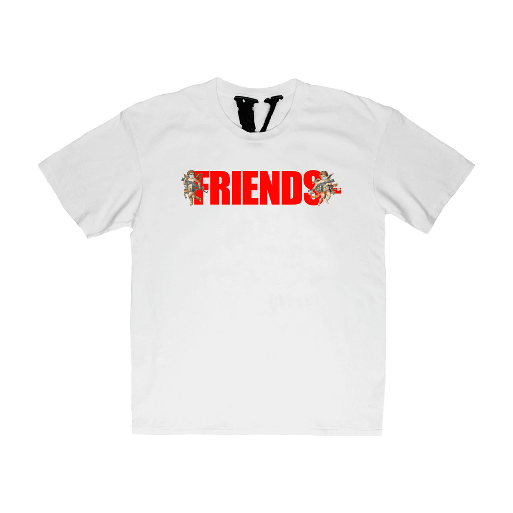 ANGEL FRIENDS- WHITE T-SHIRT